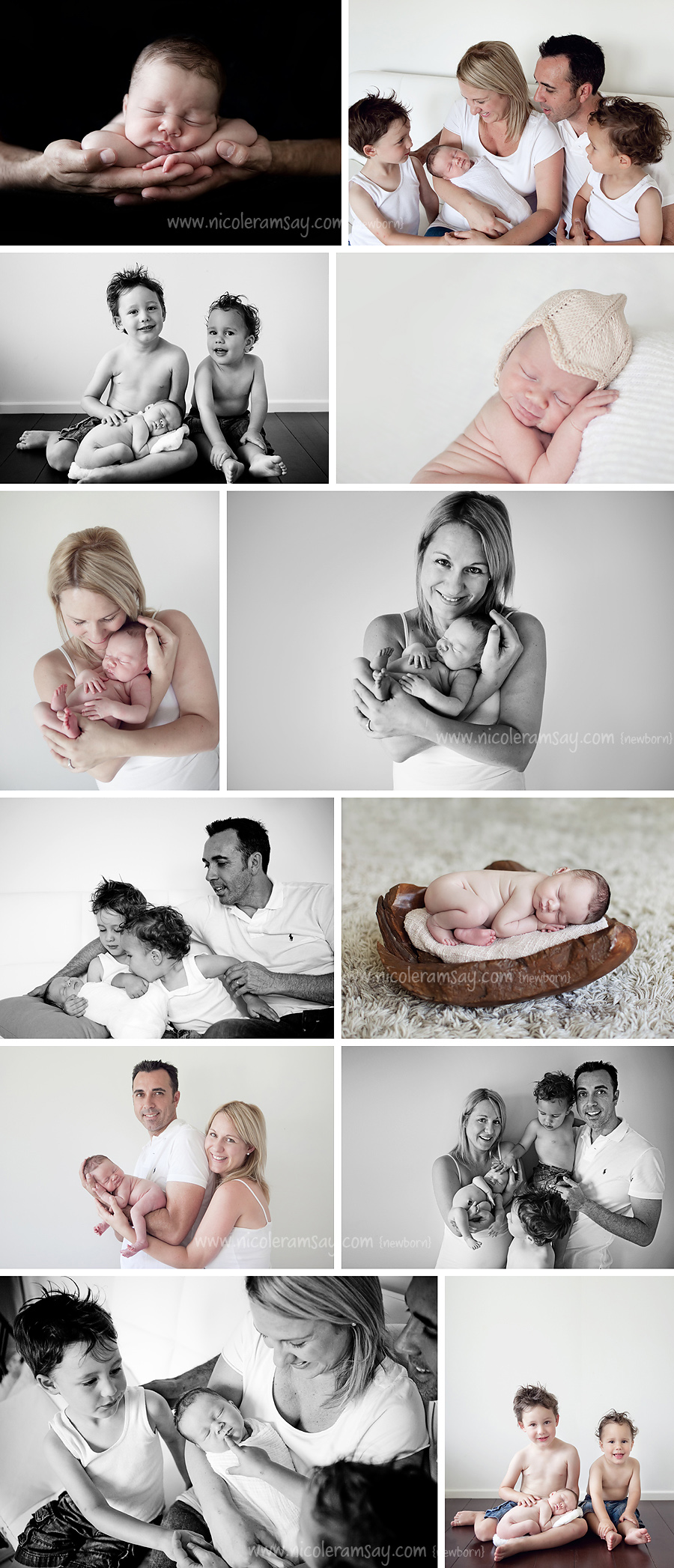 Brisbane Newborn Photographer - www.nicoleramsay.com/blog